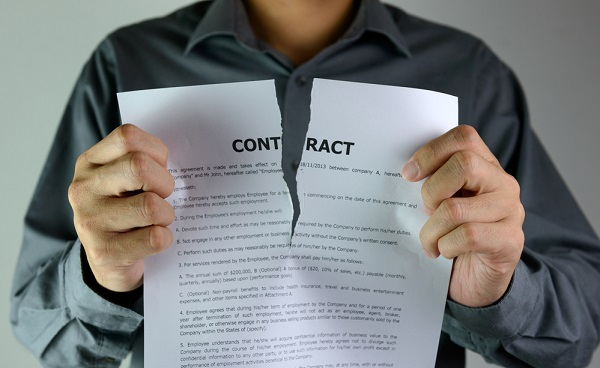 When Can Someone Terminate A Contract?